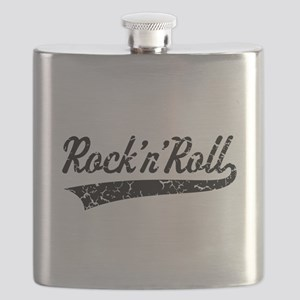 Rock 'n' Roll Vintage (Black) Flask
