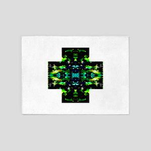 Light Cross 5'x7'Area Rug