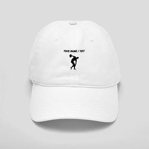 Custom Discus Throw Silhouette Baseball Cap