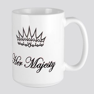 HER MAJESTY Large Mug