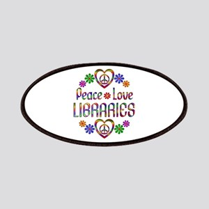 Peace Love Libraries Patches