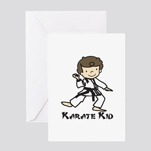 Karate Kid Greeting Cards
