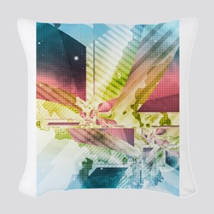 Silver Lining Woven Throw Pillow