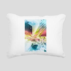 Silver Lining Rectangular Canvas Pillow