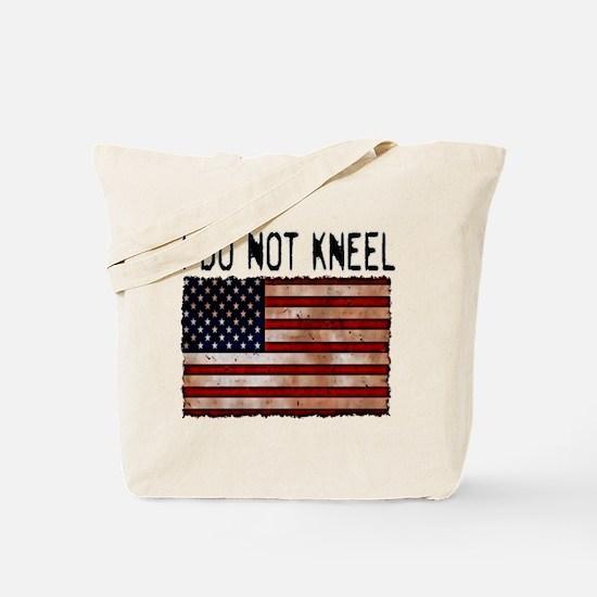 NATIONAL ANTHEM I DO NOT KNEEL NFL Tote Bag