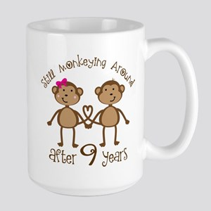 9th Anniversary Monkeys Mugs