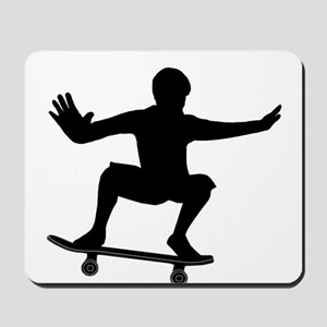 THE SKATEBOARDER Mousepad