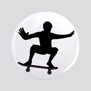 "THE SKATEBOARDER 3.5"" Button"