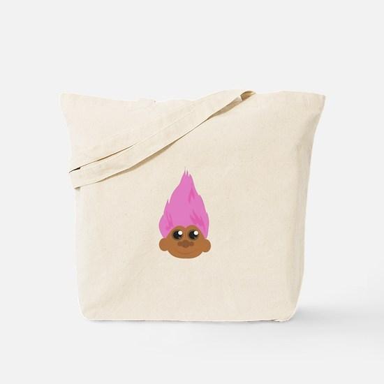 Troll Head Tote Bag