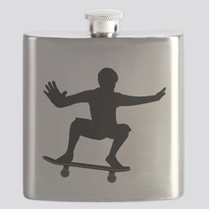 THE SKATEBOARDER Flask