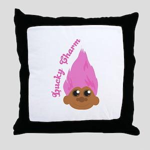 Lucky Charm Throw Pillow