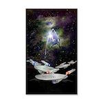 Star Trek Enterprise 35x21 Wall Decal