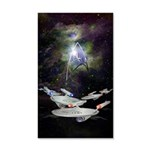 Star Trek Enterprise 35x21 Wall Decal