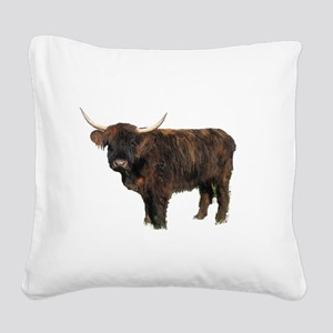 Highland Square Canvas Pillow
