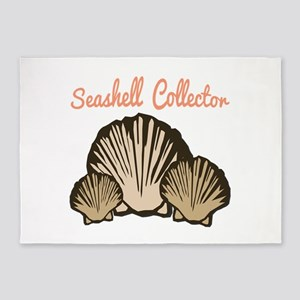Seashell Collector 5'x7'Area Rug