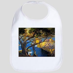 Trees Monterey Art Bib