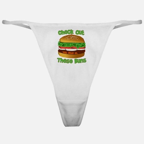 Cute Burger king Classic Thong