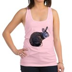 American Chinchilla Rabbit Racerback Tank Top