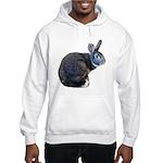American Chinchilla Rabbit Hoodie