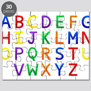 Colorful Alphabets Puzzle