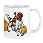 Irish Red White Setter Autumn Mug Mugs