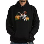 Irish Red White Setter Autumn Hoodie (dark)