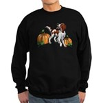 Irish Red White Setter Autumn Sweatshirt (dark)
