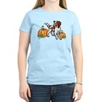 Irish Red White Setter Autum Women's Light T-Shirt