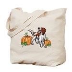 Irish Red White Setter Autumn Tote Bag