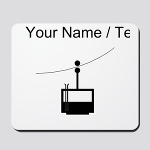 Custom Ski Lift Mousepad