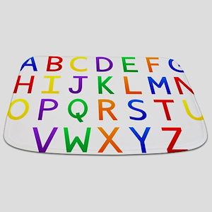 Colorful Alphabets Bathmat