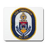USS CIMARRON Mousepad