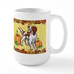 Irish Red White Setter 'pumpkin Spice' Mug