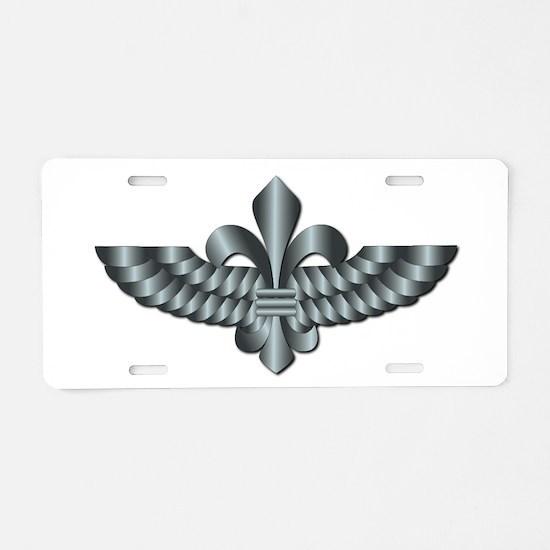 Paratroops Recon Aluminum License Plate