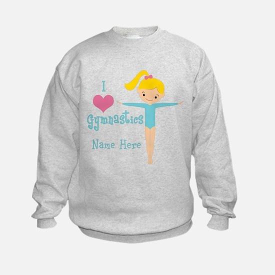 Teal Gymnast Sweatshirt
