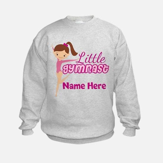 Pink Gymnast Sweatshirt