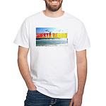 Siesta Beach Sun White T-Shirt