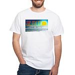 Siesta Key Sunset White T-Shirt