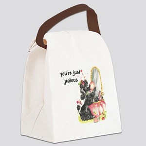 YOU'RE JUST JEALOUS Canvas Lunch Bag