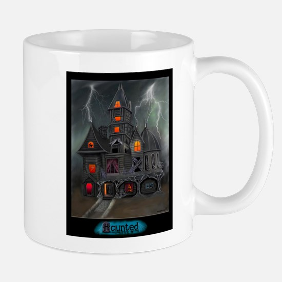 HAUNTED.JPEG Mugs