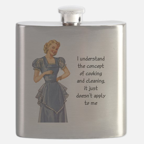 COOKING AND CLEANING Flask