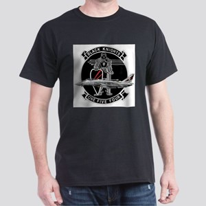 VF-154 Black Knights Ash Grey T-Shirt
