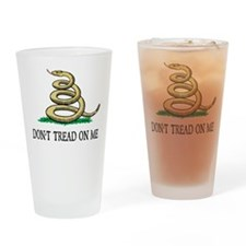 Vintage Don't Tread On Me Drinking Glass