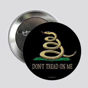 """Vintage Don't Tread On Me 2.25"""" Button (10 pack)"""