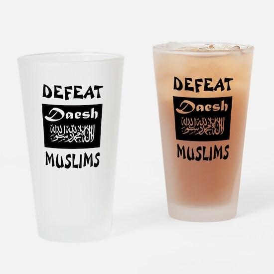 DAESH Drinking Glass