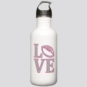 Football Love Stainless Water Bottle 1.0L