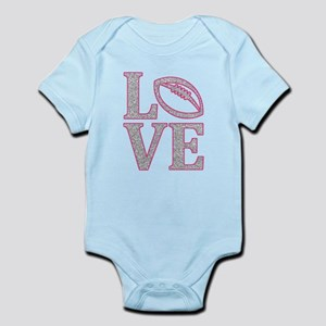 Football Love Infant Bodysuit