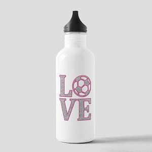 SOCCER LOVE Stainless Water Bottle 1.0L