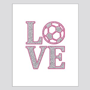 SOCCER LOVE Small Poster