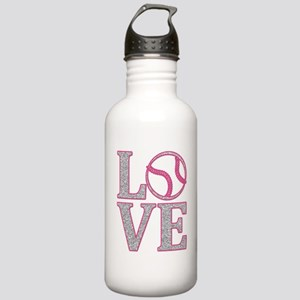 Baseball LOVE Stainless Water Bottle 1.0L